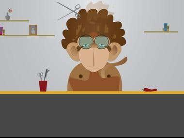 MonkeyAfro - Intro video