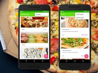 Food Delivery App ( Native Mobile App)