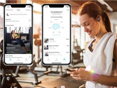 Fitness App ( Native Mobile App)
