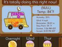 Magic Weather Van App