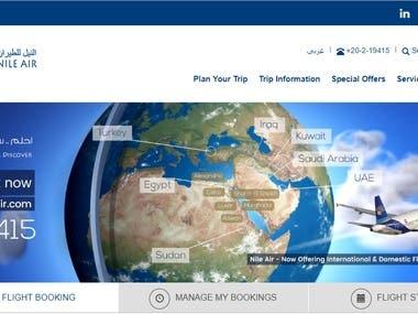 AIRPORT WEBSITE