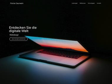 My Germany Landing Page