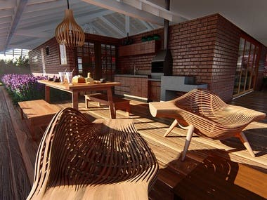 3D Render and Architecture Projects