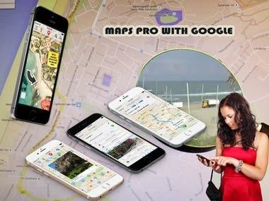 Maps Pro with Google MapsThe advanced Google Maps app with u
