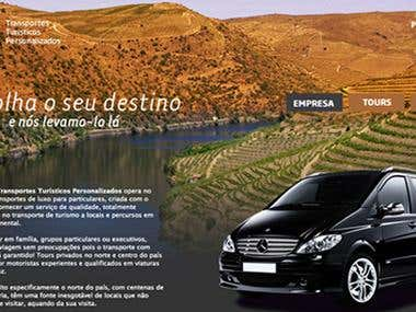 Website for the Portuguese Company