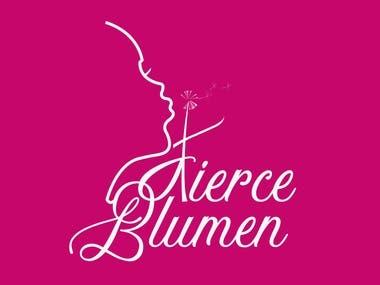 Fierce blumen logo