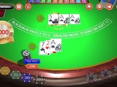 Unity 3D Game(Blackjack)