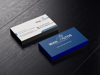 Business Card Showcase #1