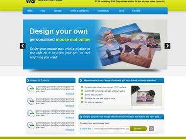 Home Page Deisgn