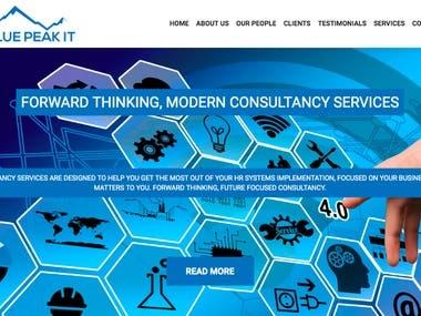 Blue Peak IT – Website Design and Build