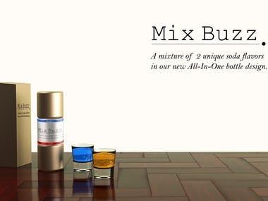 mixbuzz -dual flavore soda-