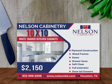 Kitchen Cabinetry Industry Flyer