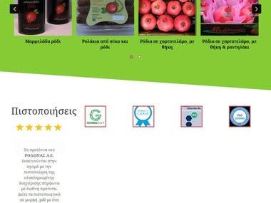 rodonas.gr Website