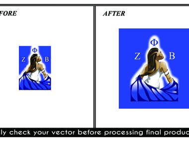 I Will Vector Your Logo Or Image, Vector Tracing, Trace