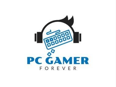 PC Gamer Forever logo design by Anonna