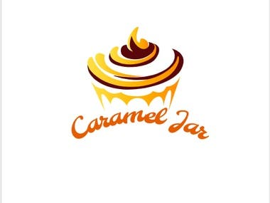 Caramel Jar logo design by Anonna