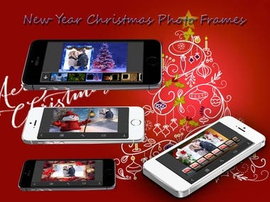 New Year Christmas Photo Frames - Elegant Photo frame for yo