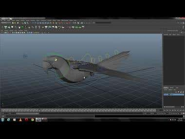 3D Animal Rigging