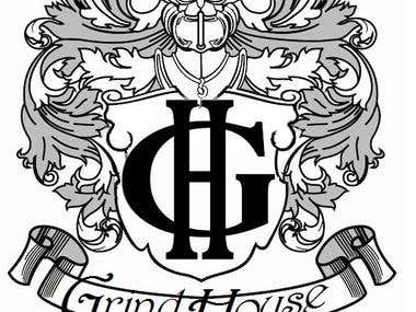 Logos for Grind House record Label .