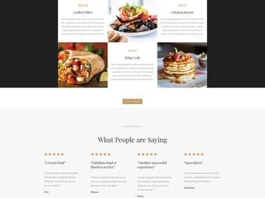 Divi - Resting Restaurant