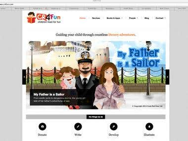 CR4Fun Site and Digital Book and App Publishing