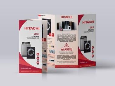 Tri-Fold Brochure for Hitachi-Best Electronics