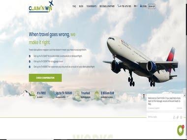 Laravel Flight Claim App