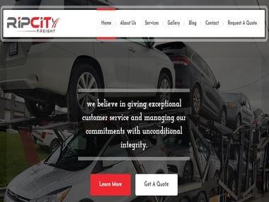 Custom WordPress Theme for car website