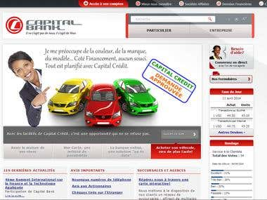 Capital Bank Website