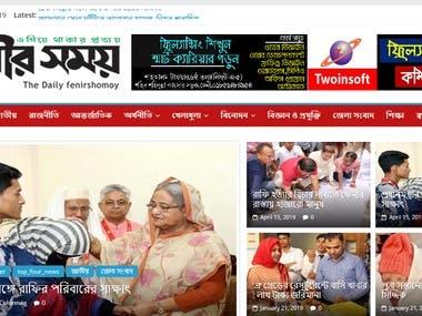 Newsportal Website