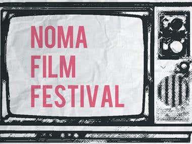 Poster for NoMA Film Festival