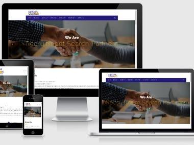 Human Horizon (Wordpress, CMS, HTML 5, Bootstrap, PHP)