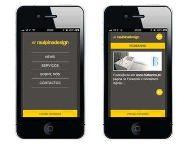 Website for Mobile Devices