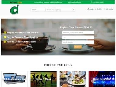 Classified Website - Business Classified Portal