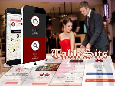 Tablesits(IONIC APP)