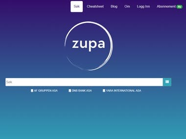 Zupa.no - business finder for Norway