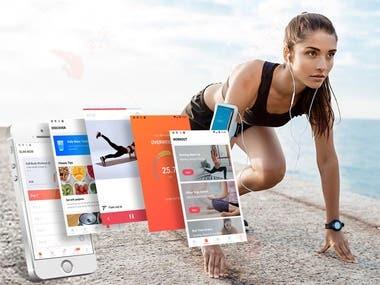 Fitness App: Slim Now