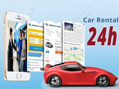 Car Rental App: Rental Cars 24h