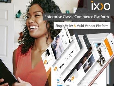 Multi Vendor Shopping Platform: iXXO