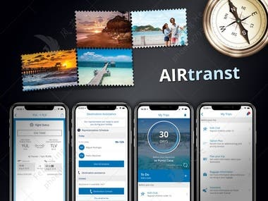 Traveling Service App: Air Transt