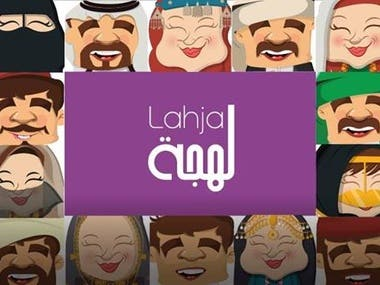Voice-Over with different Arabic accents.