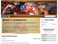 Wordpress template for a barbeque review site