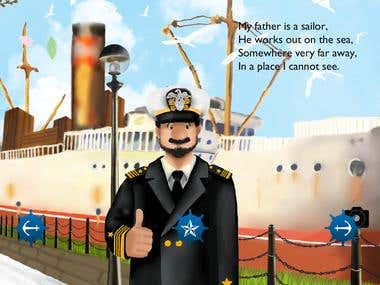 My Father is a Sailor : Mobile App