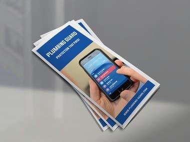 Pumbling Trifold Brochure Template