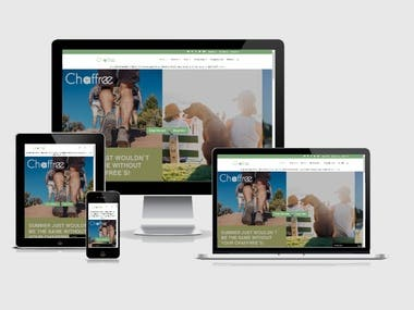 chaffree (WooCommerce, CMS, HTML, Jquery, PHP)