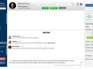Collobration Tool & Meeting Transcript Bot
