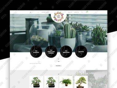 Website for The Garden of Gaia