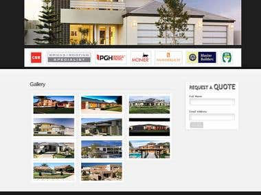 Roofing website