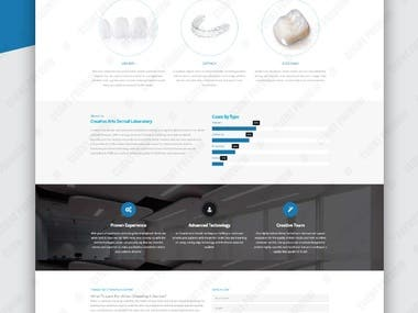 Website for Creative Arts Dental