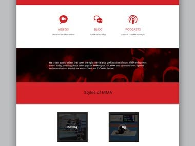 Website for Tsomma
